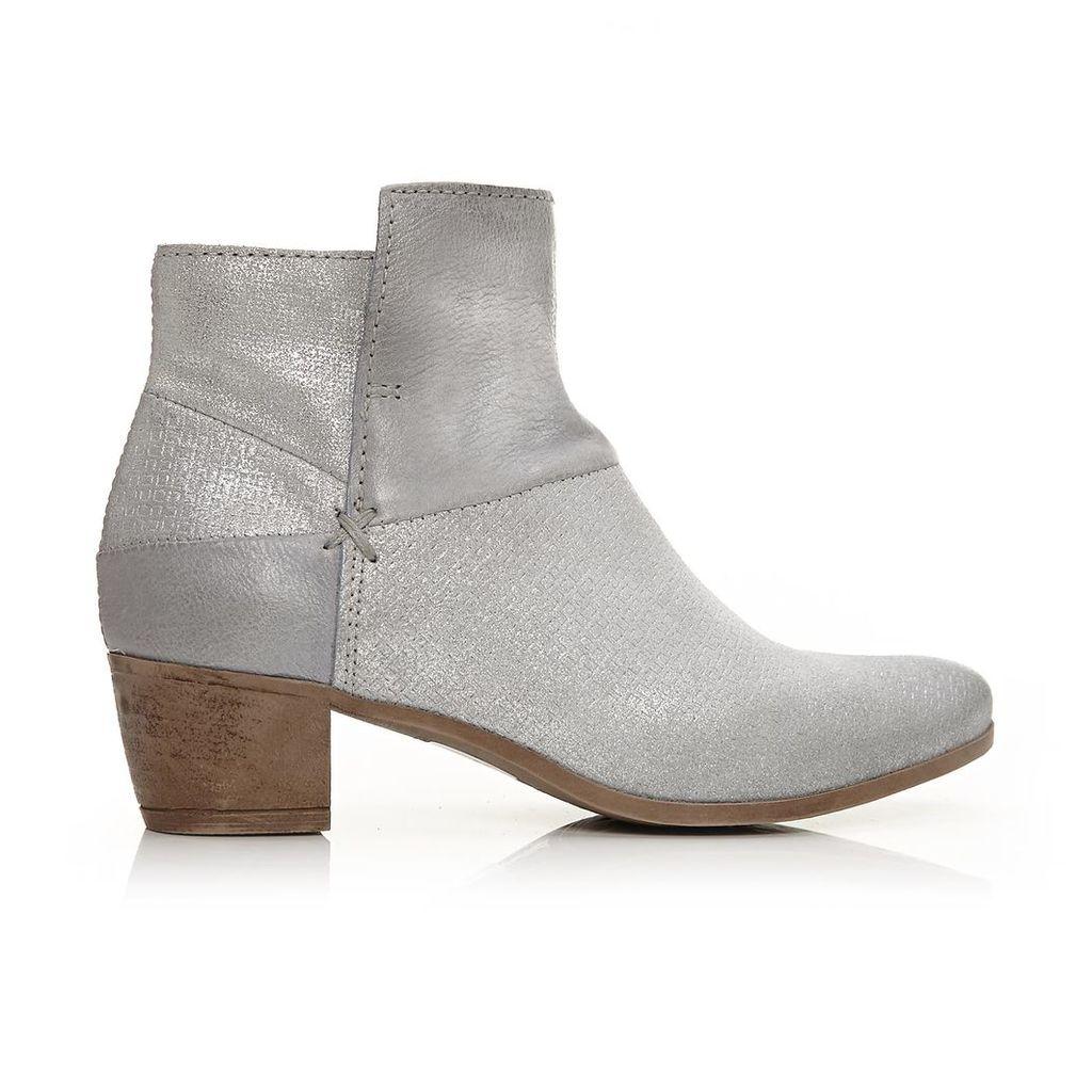 Moda in Pelle Corili Light Blue Medium Casual Short Boots