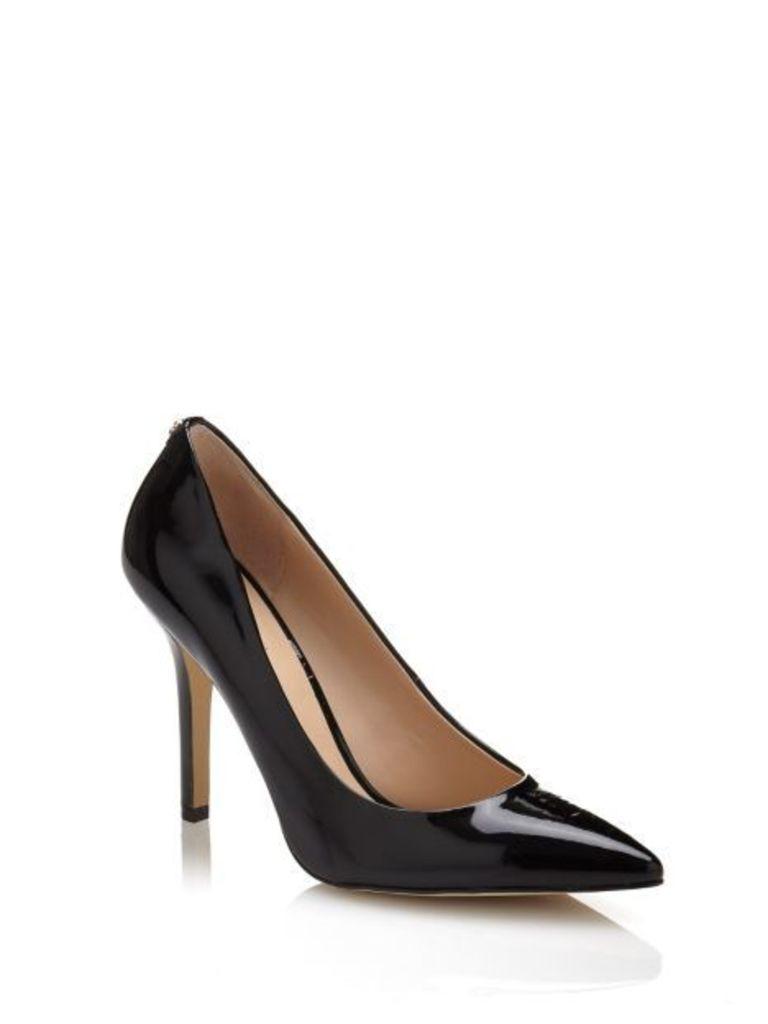 Guess Plasmia Patent-Look Court Shoe