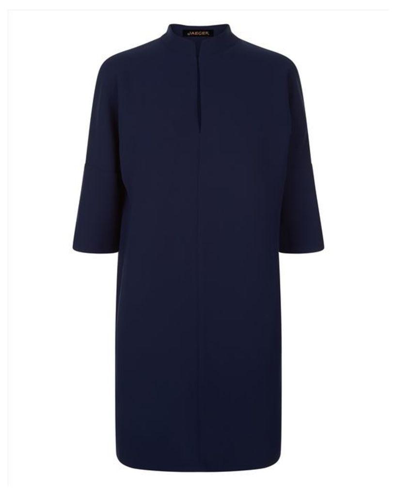 Crepe Kimono Sleeve Dress