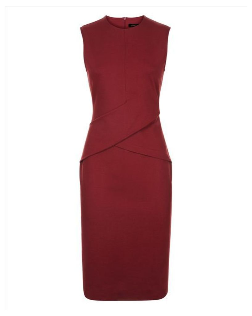 Compact Jersey Wrap Dress