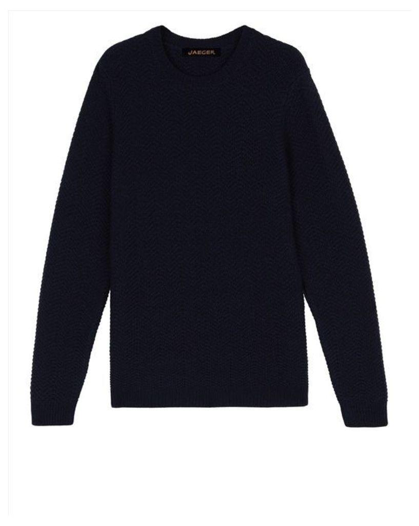 Wool Tuck Stitch Sweater