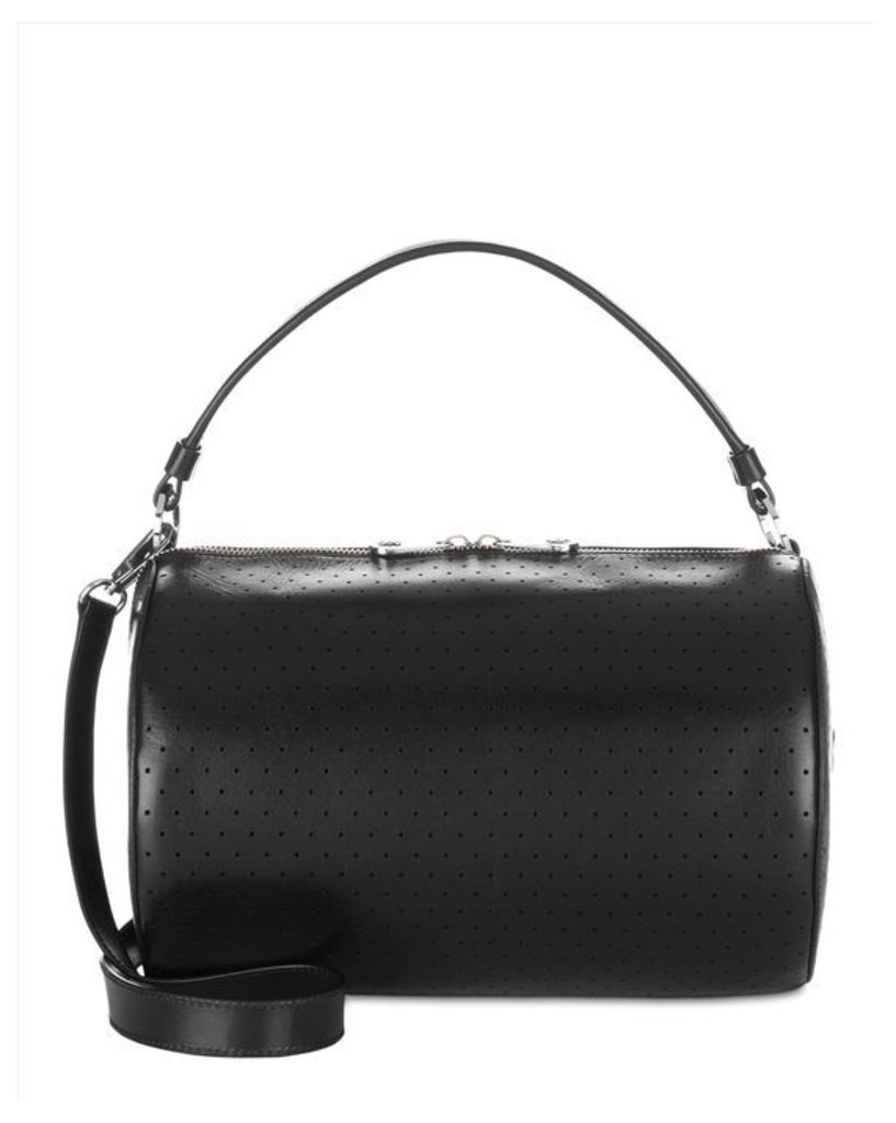 Chunky Zip Detail Bowler Bag