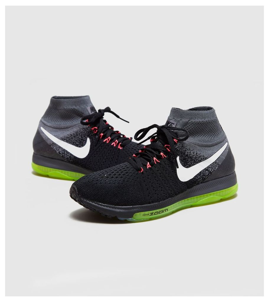 Nike Zoom All Out Flyknit Women's, Black/White
