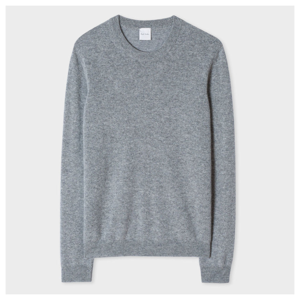 Women's Grey Marl Cashmere Sweater