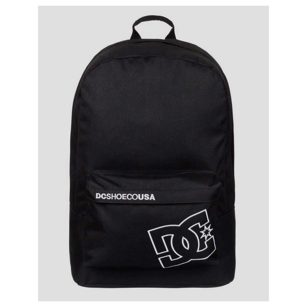 DC Bunker Solid Backpack - Black (One Size Only)