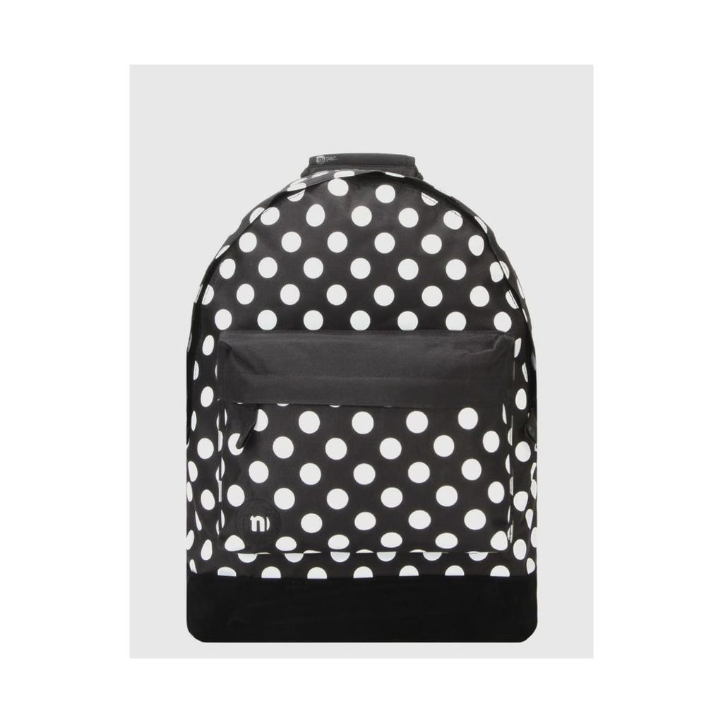 Mi-Pac All Polka Backpack - Black/White (One Size Only)
