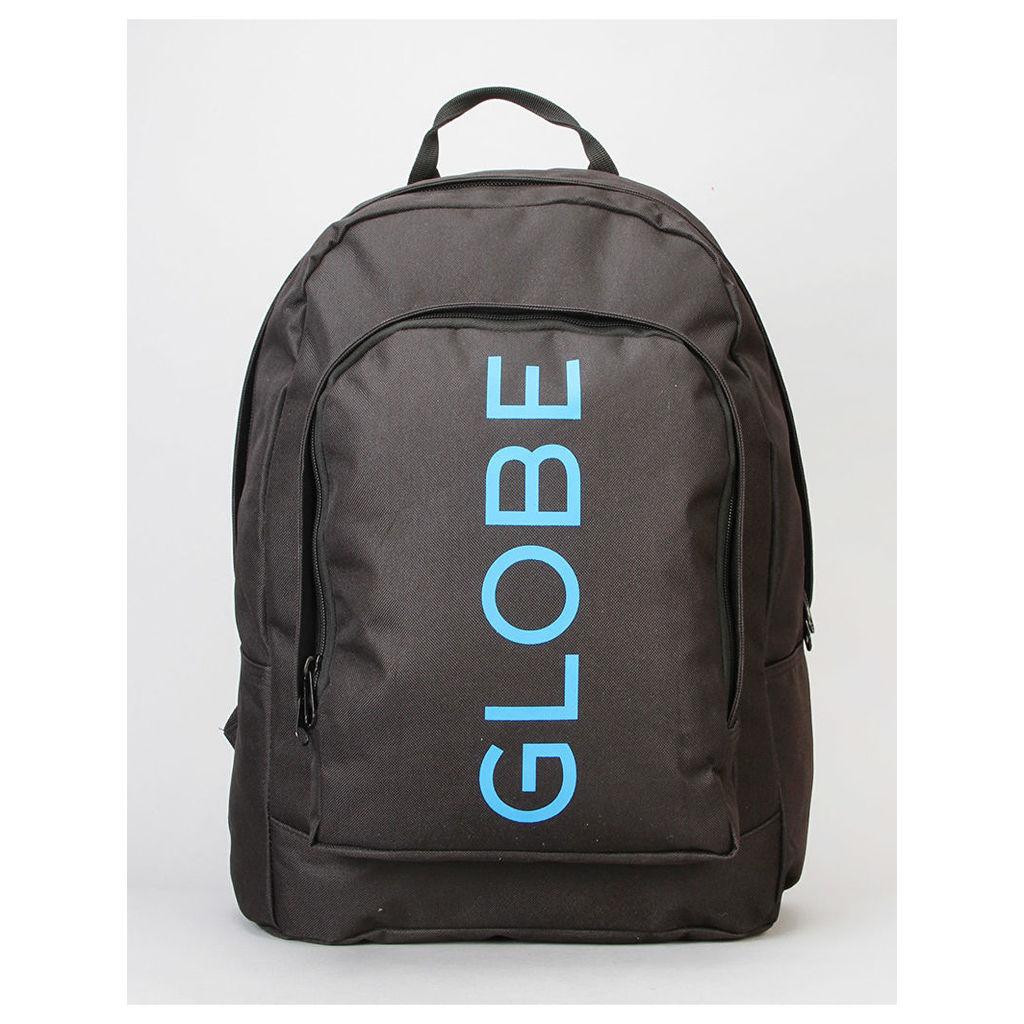 Globe Bank II Backpack - Black/Blue (One Size Only)