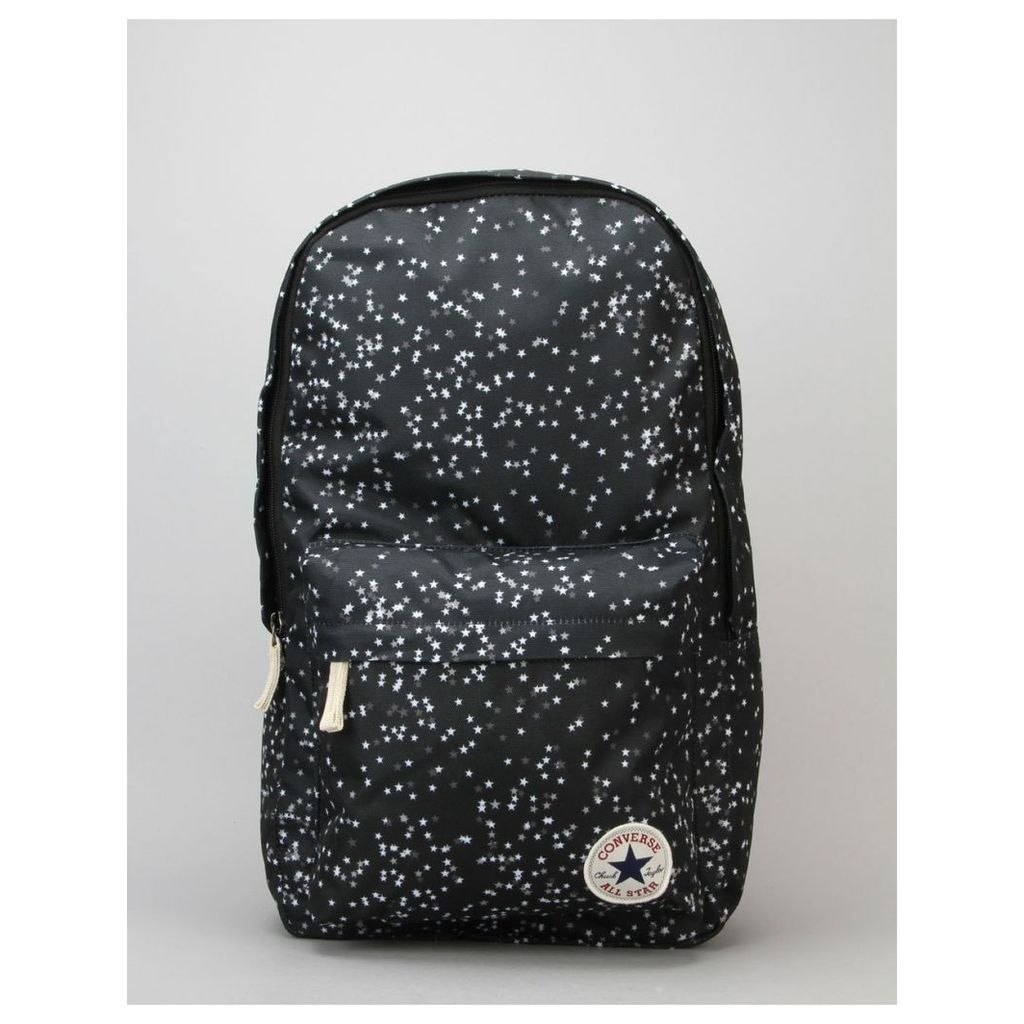 Converse Poly Backpack - Converse Black/White (One Size Only)