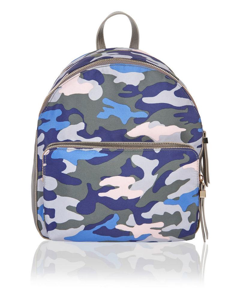Camo Print Mini Dome Backpack