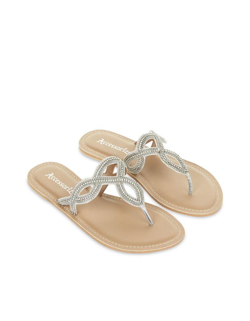 Tatiana Celtic Embellished Sandals