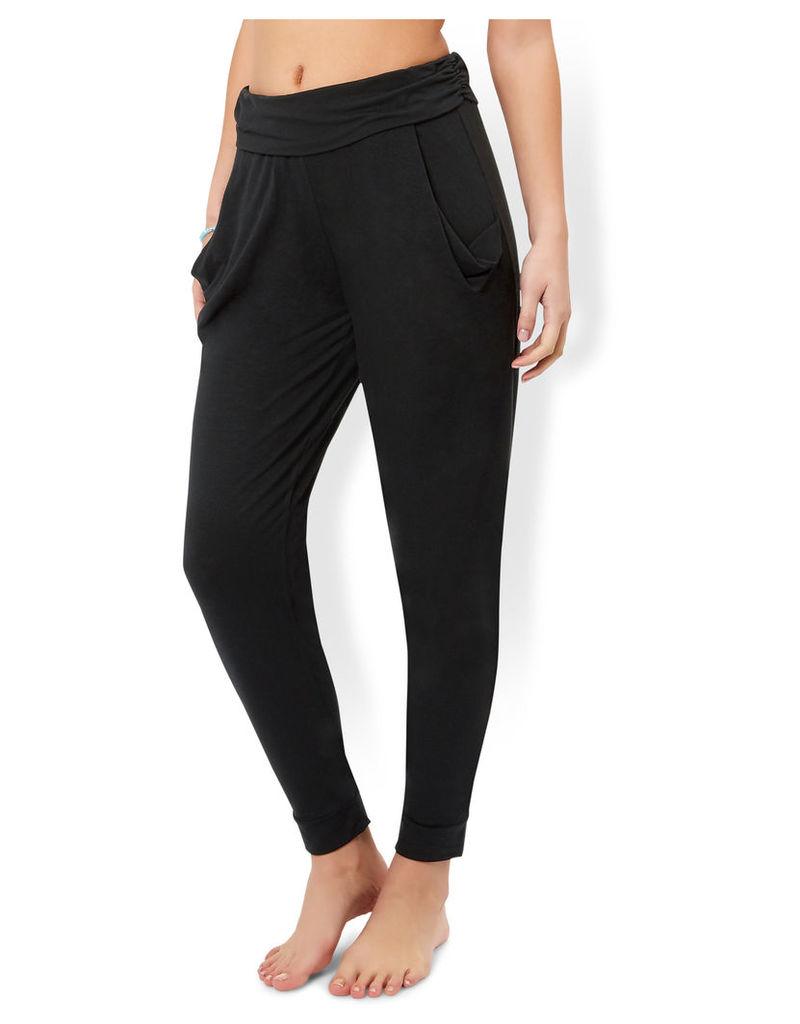 Hareem Black Trousers