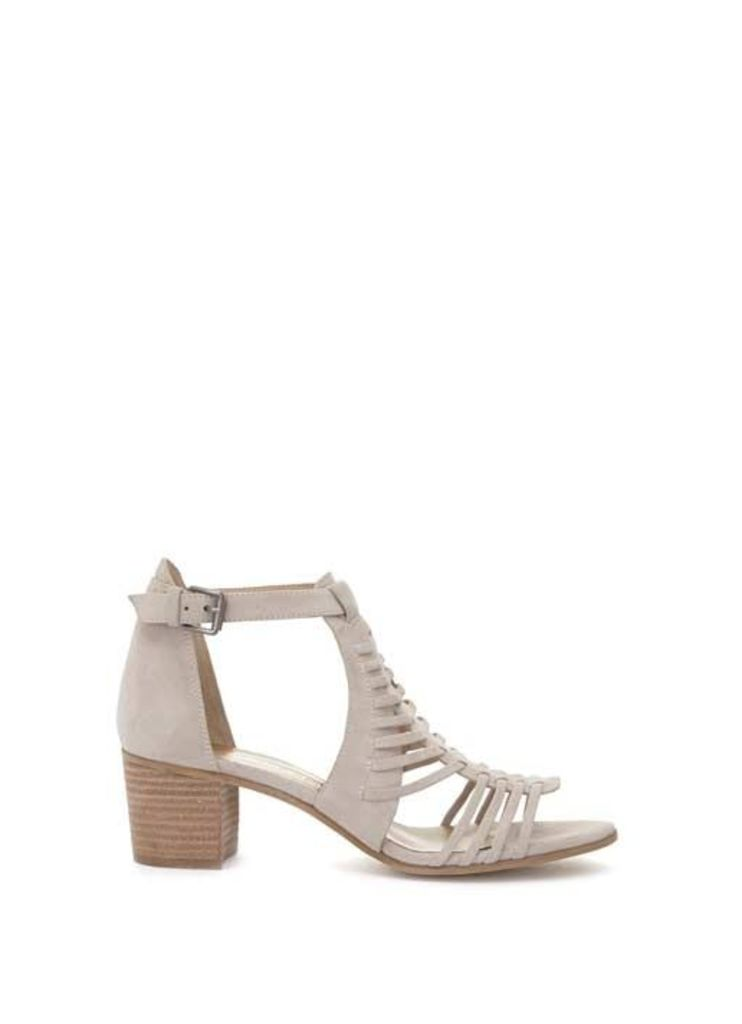 Nude Robyn Caged Low Sandal