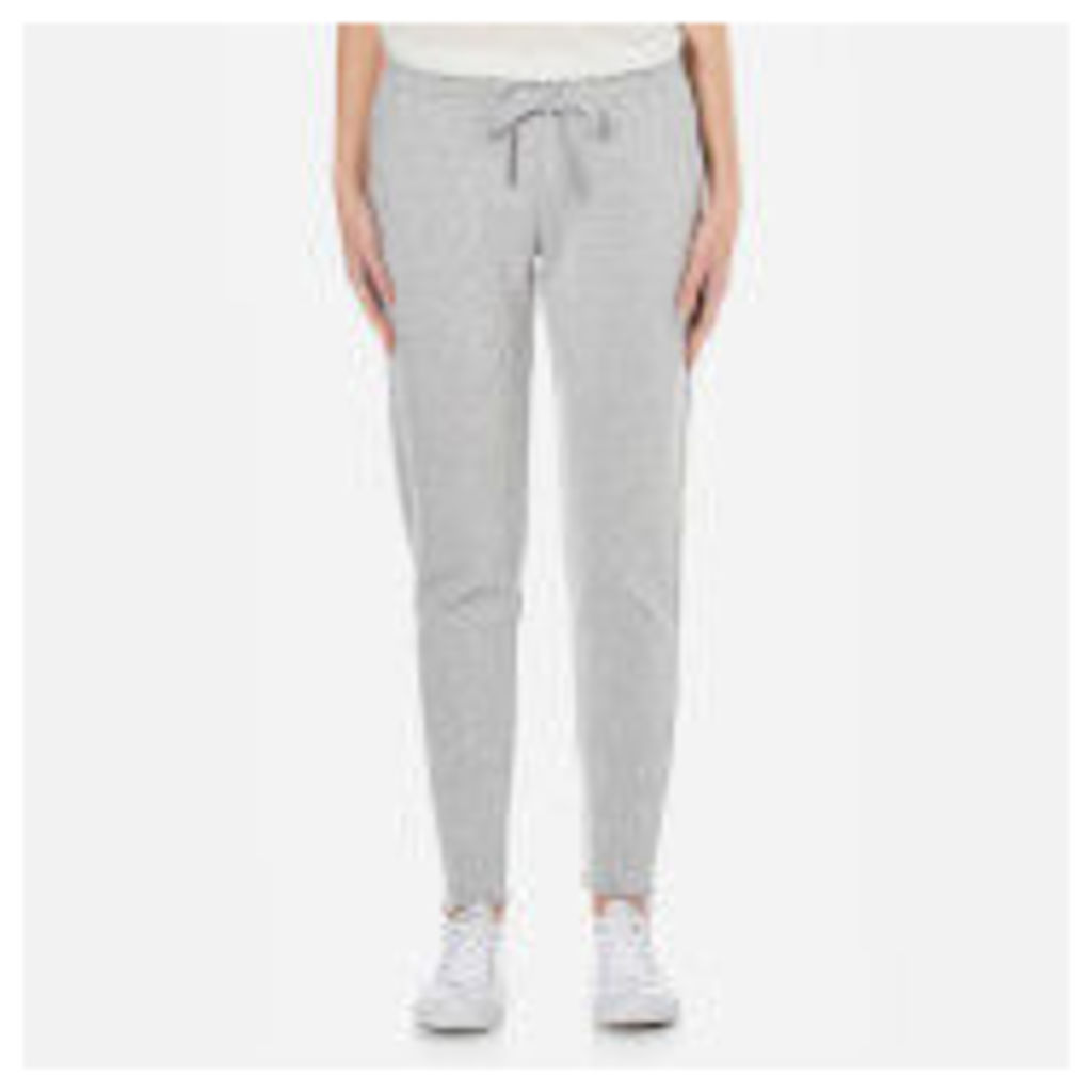 UGG Women's Molly Double Knit Fleece Tapered Leg Joggers - Seal Heather - S