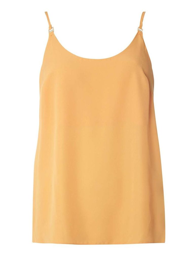 Womens Sunflower Metal Trim Camisole Top- Yellow