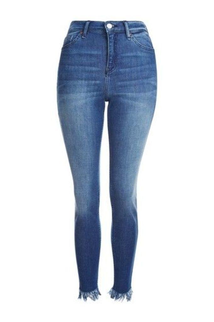 Womens MOTO Premium Indigo Cain Skinny Jeans - Indigo, Indigo