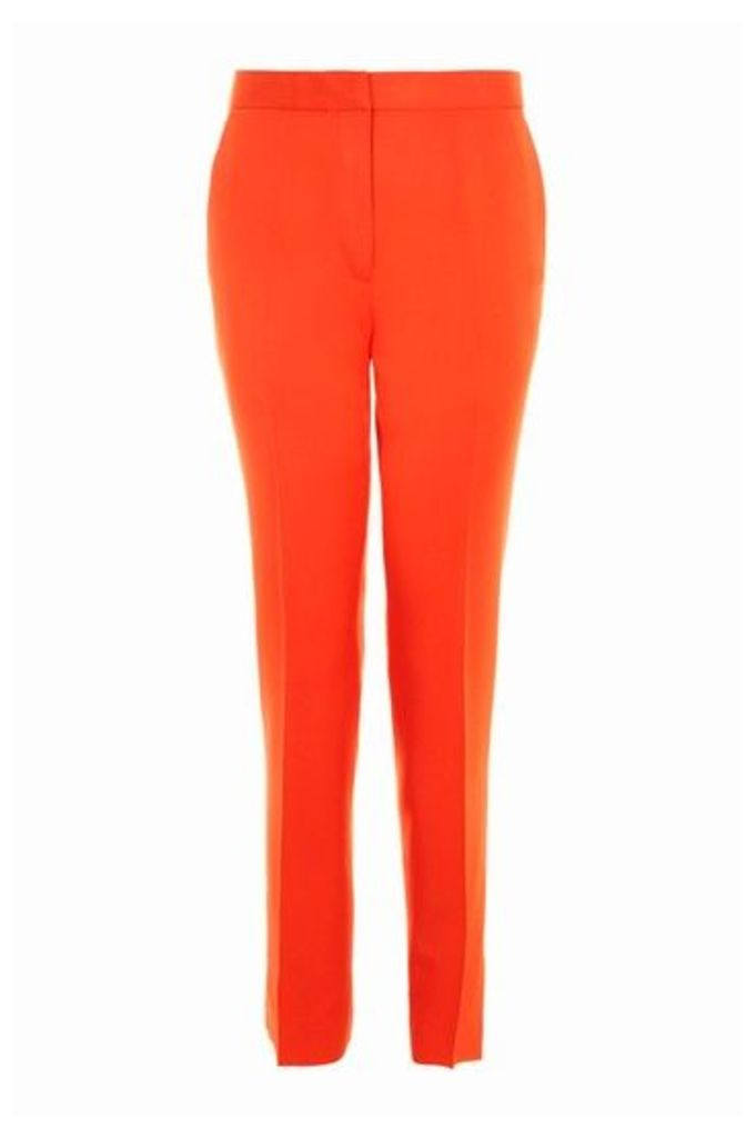 Womens Tailored Suit Trousers - Tomato, Tomato