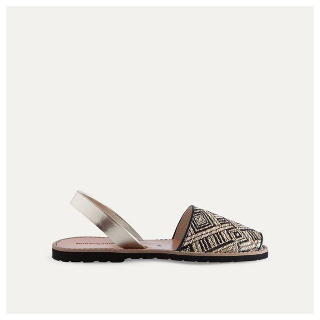 Avarca Raffia Sandals