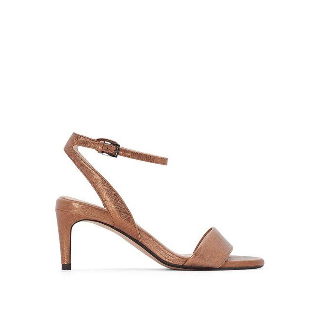 Amali Jewel Leather Sandals