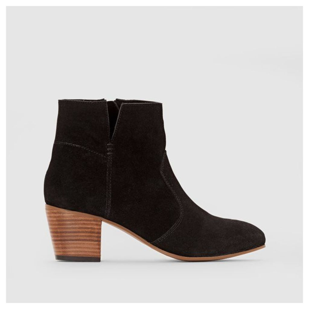 Karla Bootie Leather Ankle Boots