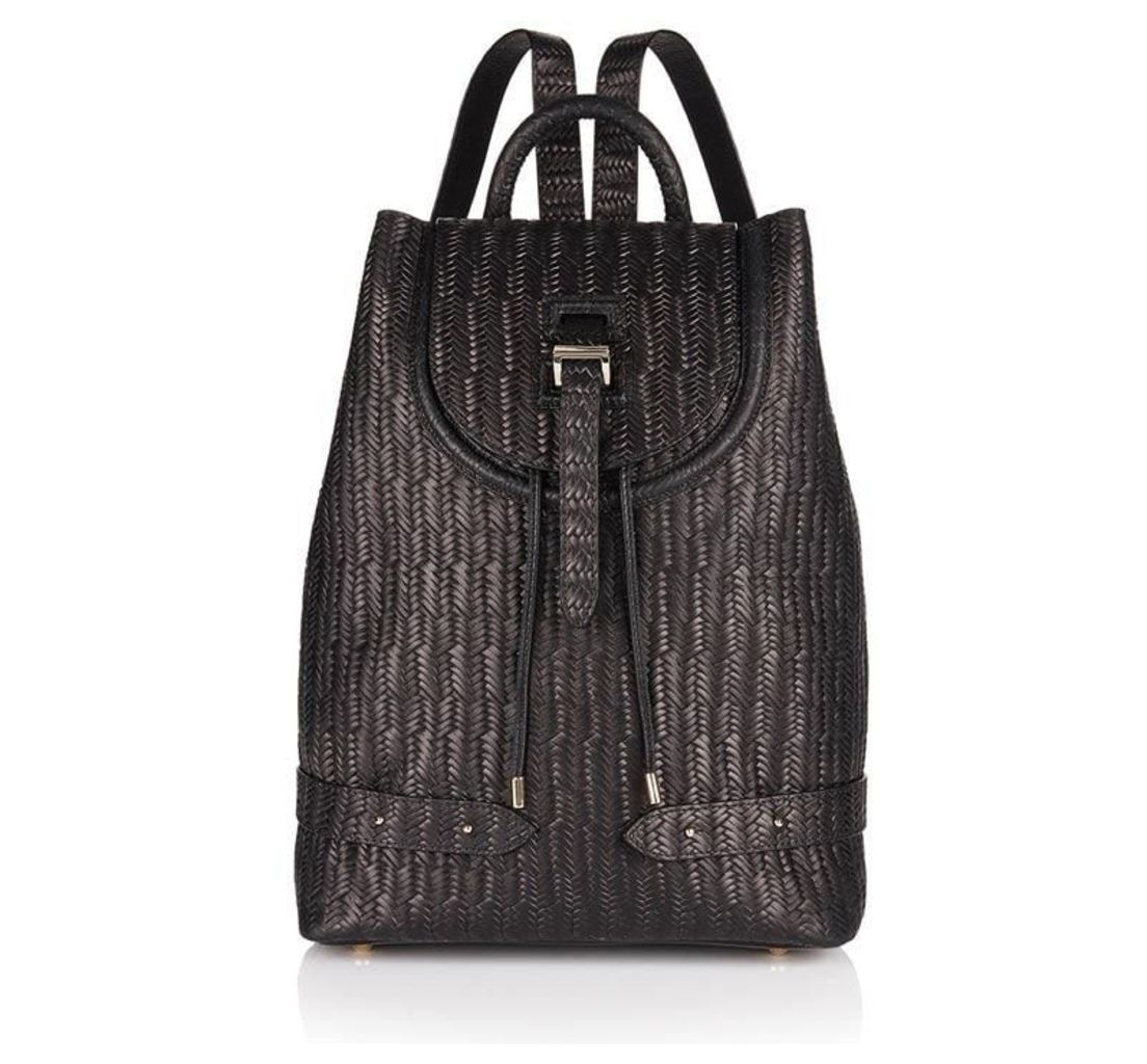 Backpack Black Woven