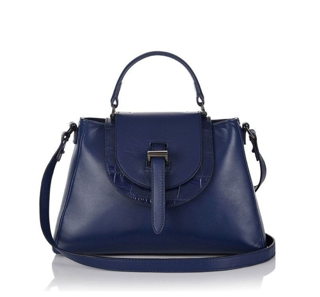 Flavia Tote Bag Midnight Blue