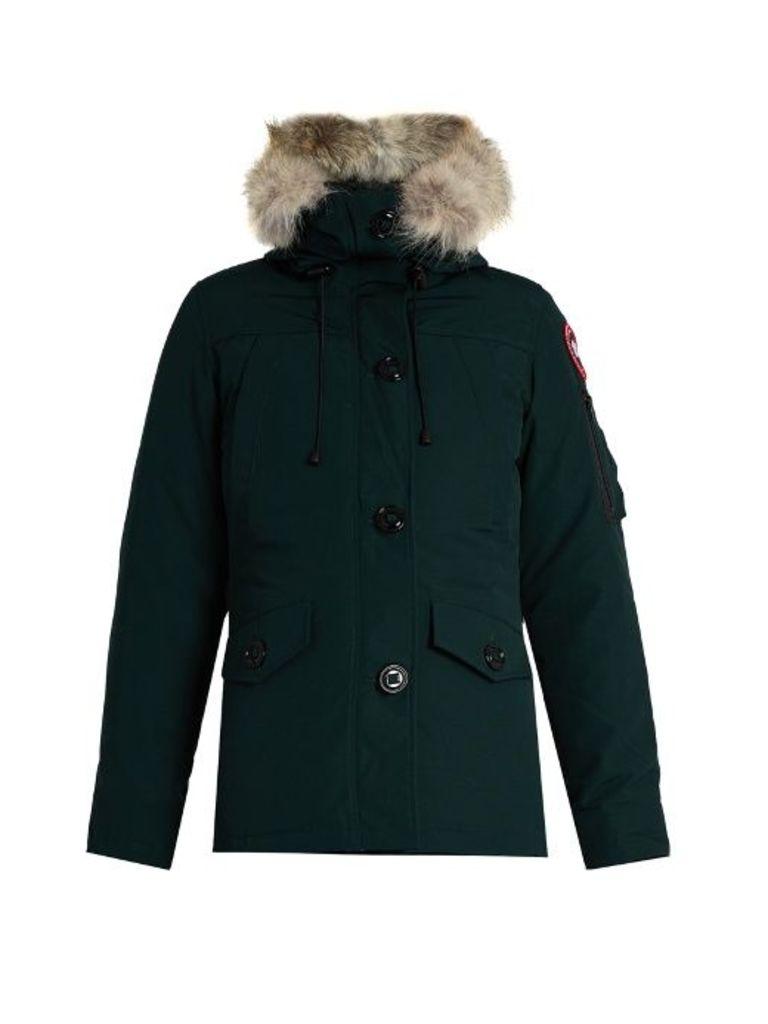 Montebello fur-trimmed down coat