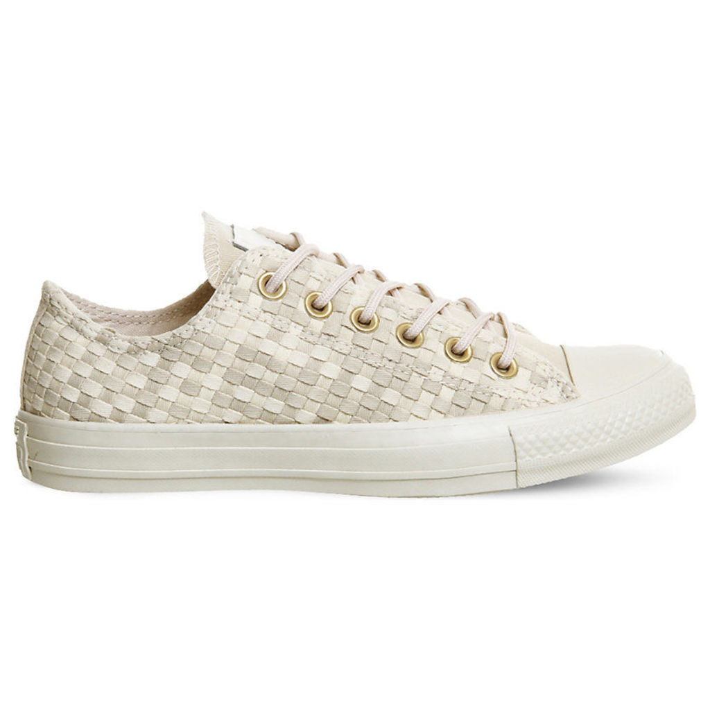 All-star low woven canvas trainers