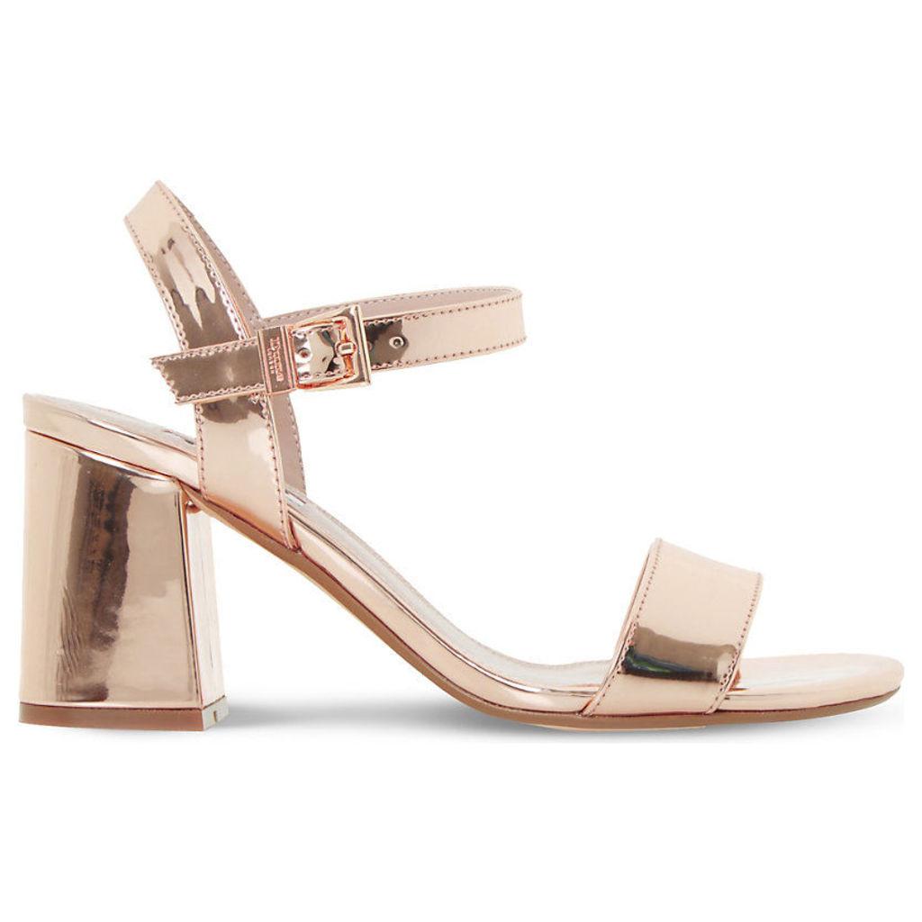 Mylow metallic sandals