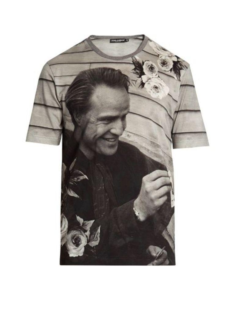 Marlon Brando cotton-jersey T-shirt