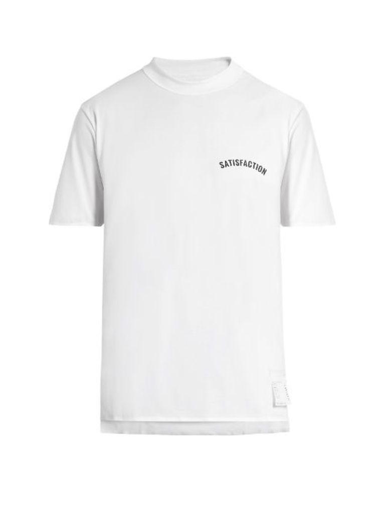 Satisfaction jersey T-shirt