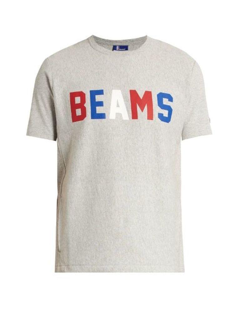Logo-print cotton-blend T-shirt