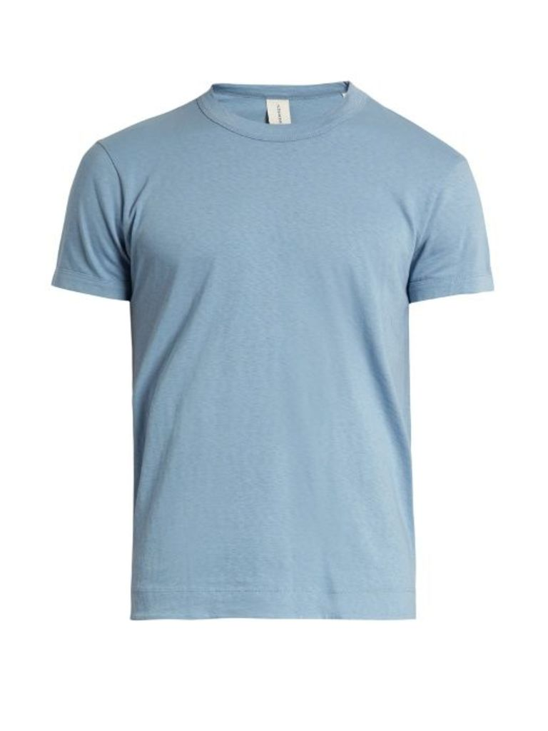 Engineer crew-neck cotton T-shirt