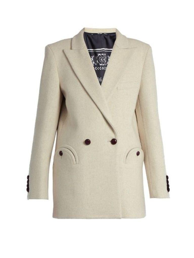 Everyday Woodland wool blazer