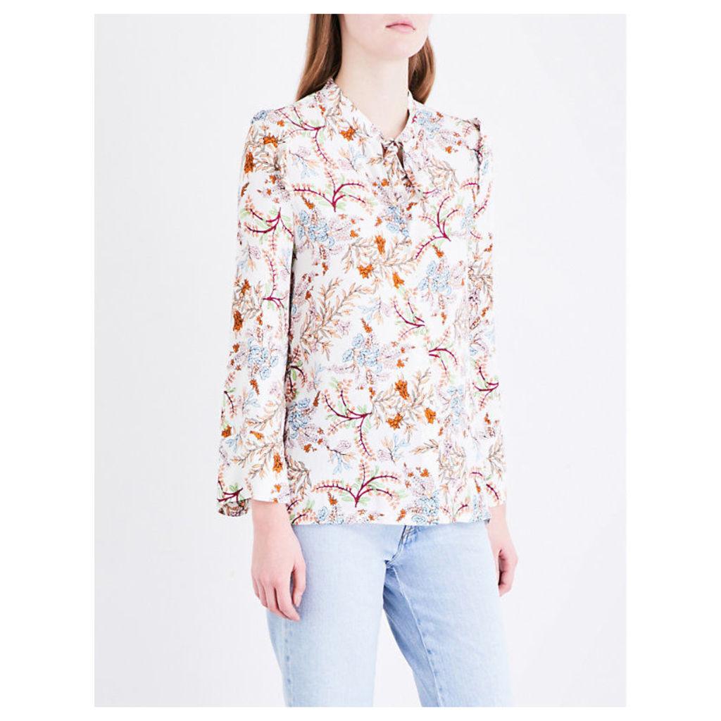 Lixie crepe shirt