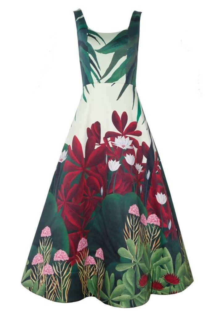 Leila Bell Dress Twilight Jungle