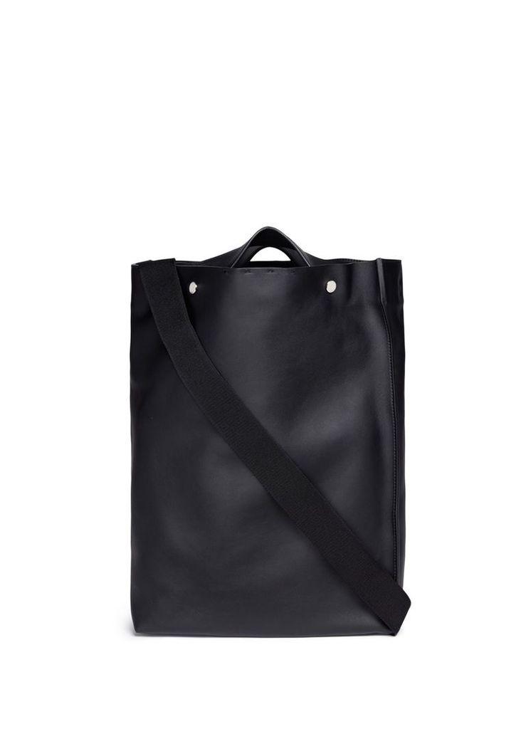 'Voile' leather shopper tote