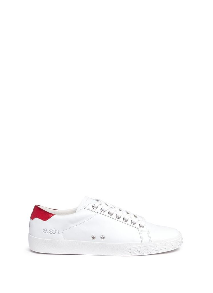 'Dazed Bis' contrast counter leather sneakers