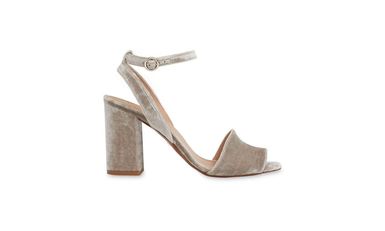Medina Velvet High Sandal