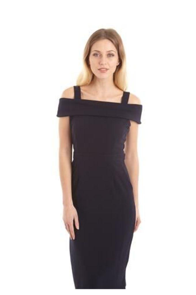 Strapped Bardot Bodycon Dress