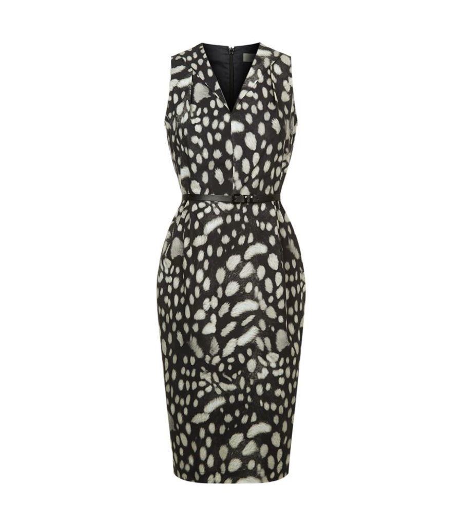 Max Mara, Leopard Print Dress, Female