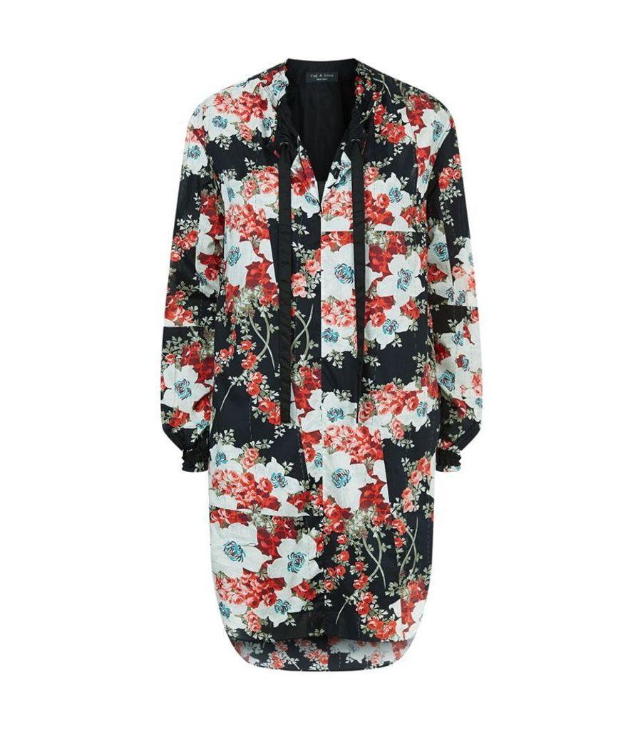 Rag & Bone, Verna Floral Tunic Dress, Female