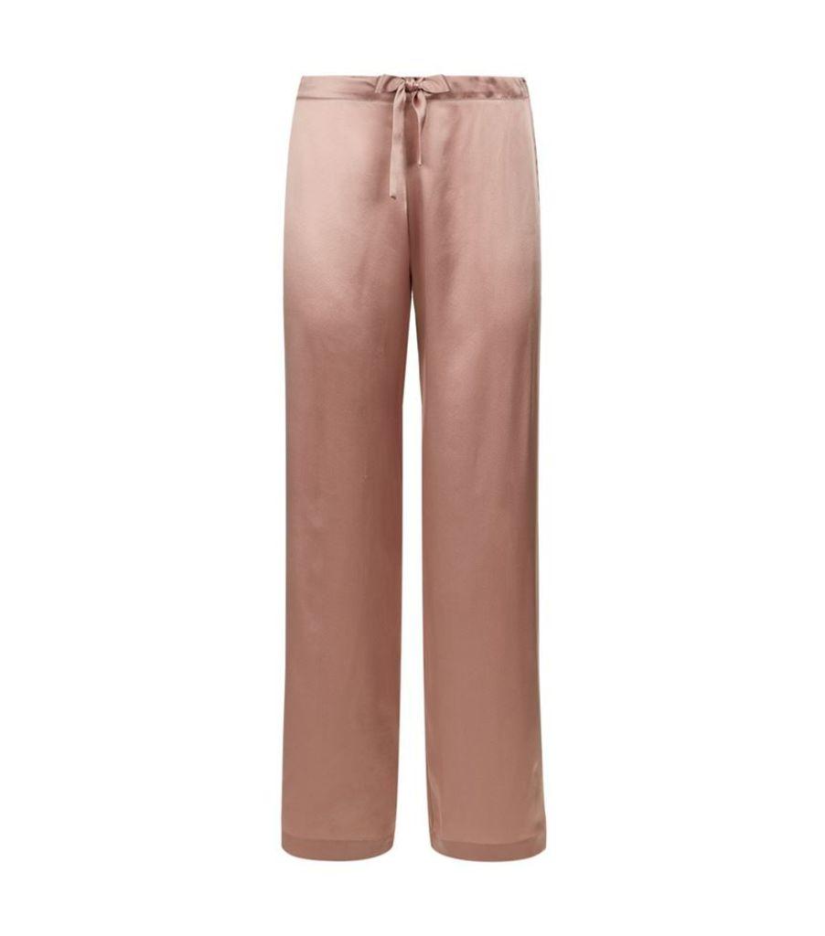 Gilda & Pearl, Silk Trousers, Female