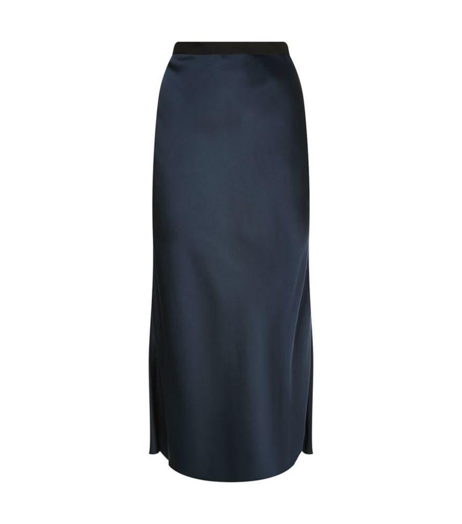 Helmut Lang, Long Slip Skirt, Female