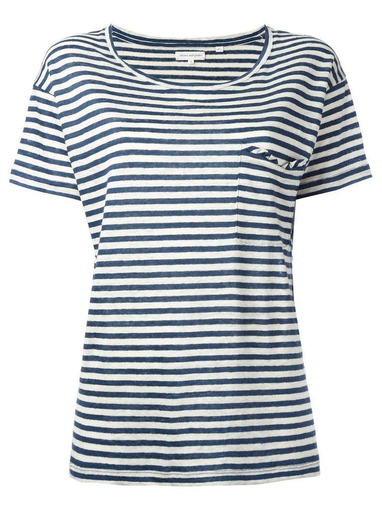 Chinti And Parker Breton stripe T-shirt, Women's, Size: Small, Blue