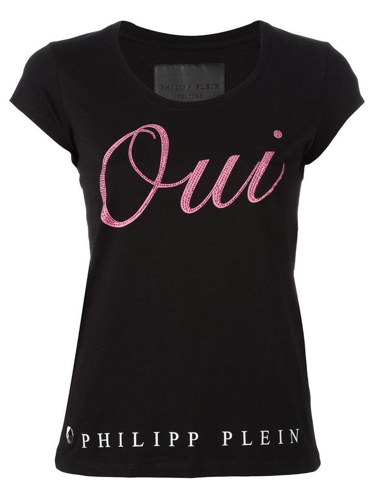 Philipp Plein Liridi T-shirt, Women's, Size: Small, Black