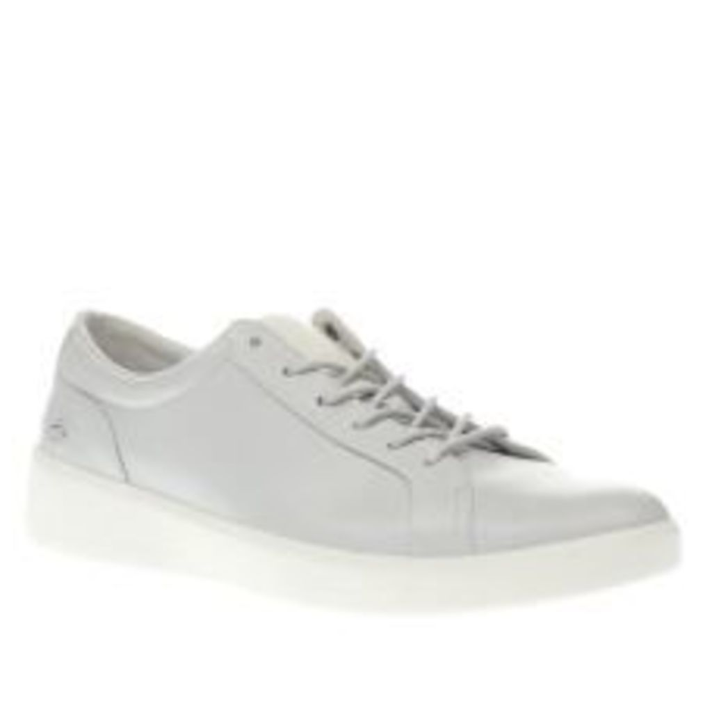 Lacoste Light Grey Rochelle Lace Trainers