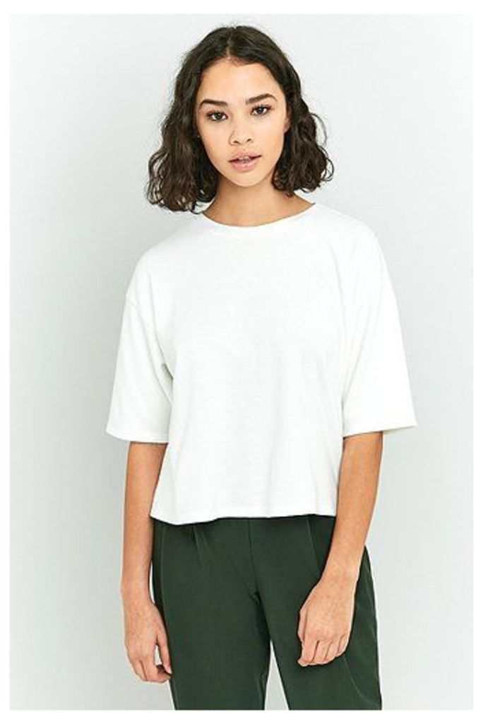 BDG Cosy Oversized T-shirt, Cream