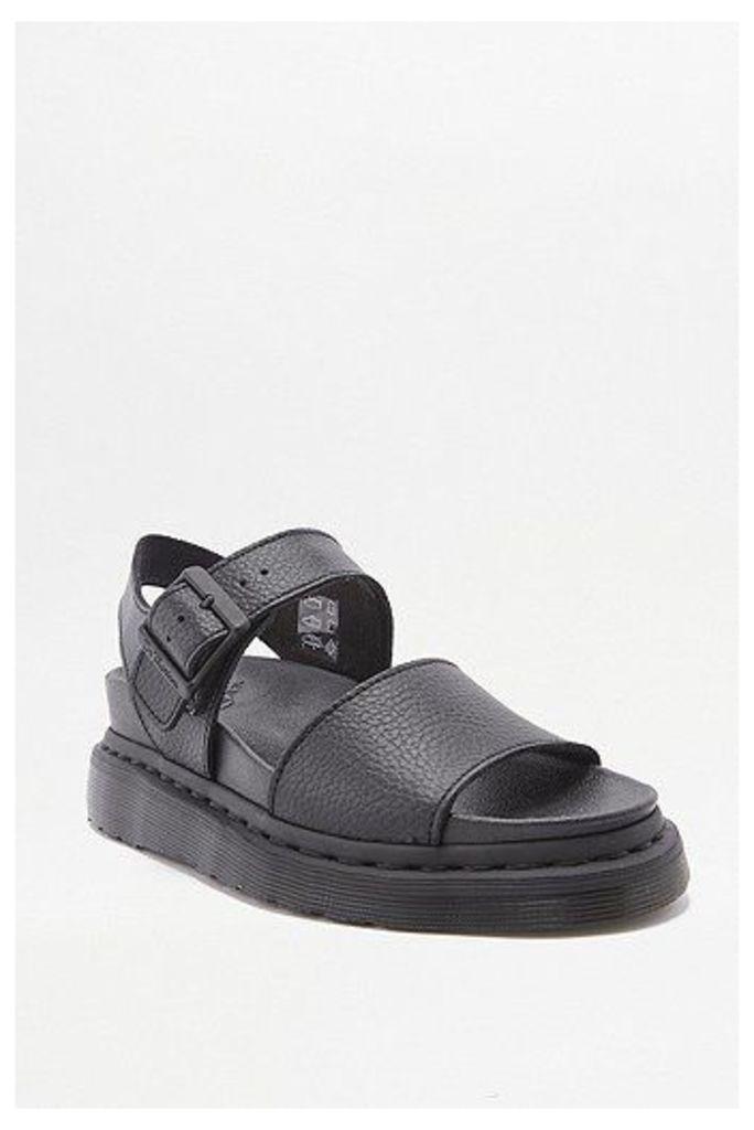 Dr. Martens Romi Black Strap Sandals, Black