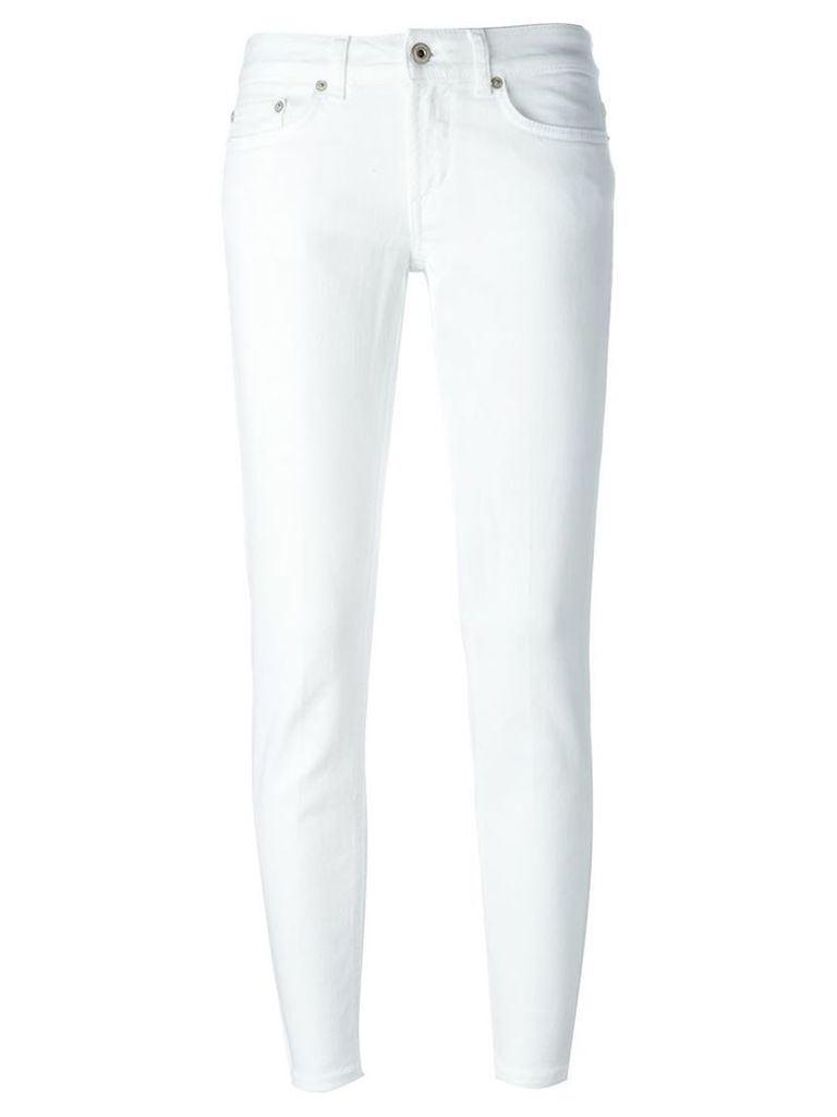 Dondup skinny fit trousers, Women's, Size: 27, White
