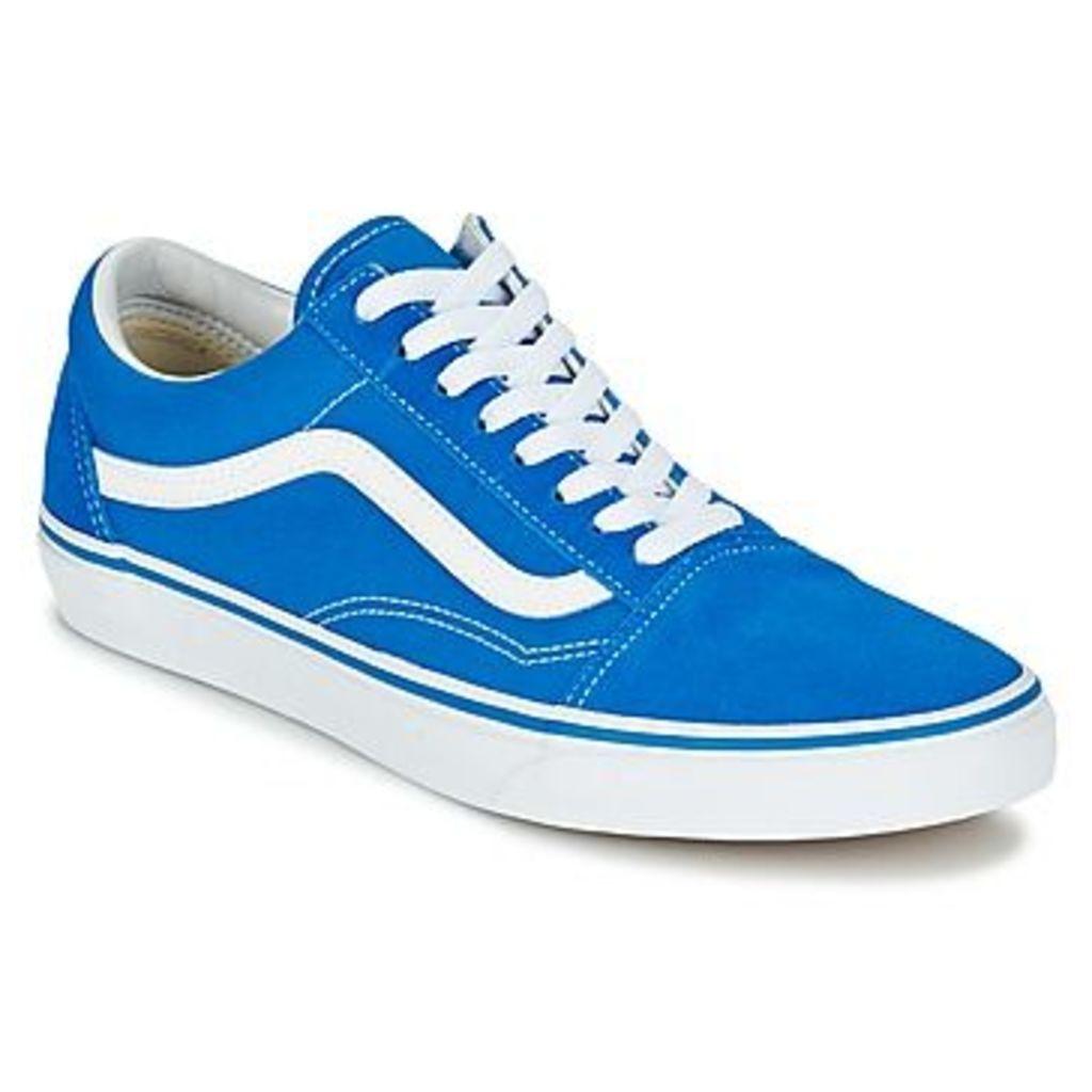 Vans  OLD SKOOL  women's Shoes (Trainers) in blue